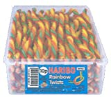 Haribo Rainbow Twists 64 Pieces Per Tub