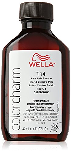 Ash Blonde Haarfarbe (Wella Color Charm Toner - #T14 - Pale Ash Blonde 41 ml)
