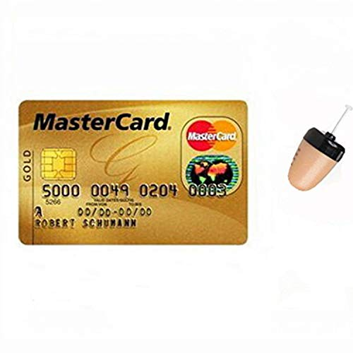 89279132fa9 GSM BOX - Auriculares invisibles con tarjeta de crédito, tarjeta VIP, micro  espía para