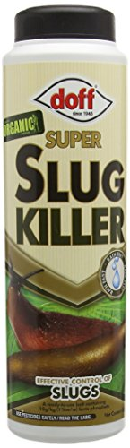Doff Super Slug Killer Organic Slug and Snail Killer 350g Advanced Ferramol Bait - Moss Killer
