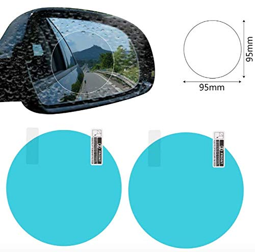 New Fashion Window Clear Safer Car Rearview Mirror Film Anti-fog Membrane Waterproof Rainproof Car Mirror Window Protective Film Car Rain Fashionable And Attractive Packages Automobiles & Motorcycles
