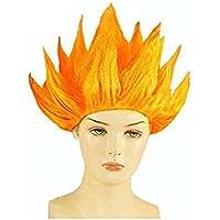 Peluca de Goku, personaje del manga japonés Dragon Ball de Eturke, ideal para fiestas