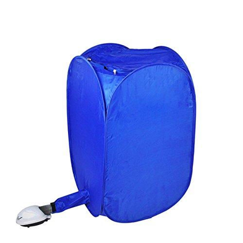 THEE Mini Sèche-Linge électrique Portable pour Vêtements Bleu Voyage Camping