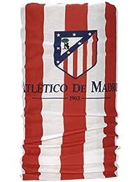 Wind X Treme Atlético de Madrid - Braga cuello multifunción, color rojo/blanco,