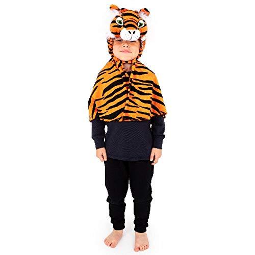 Book Jungle Dress Kostüm Fancy - Kinder, Kleinkinder, Tiger Cape Kostüm 3-6 Jahre [Spielzeug]