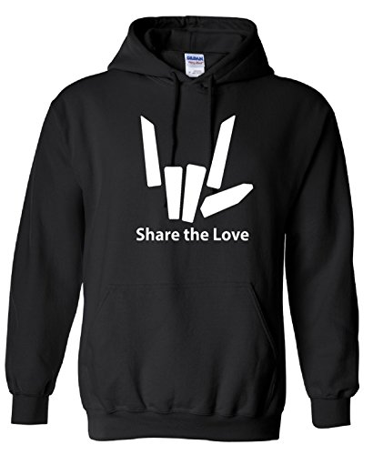 VinylStudio Share The Love Logo 2 Inspired Kids Hoodie 80% Cotton / 20% Polyester