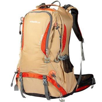 Outdoor-Rucksack Tasche Rucksack wasserdicht Reisen Wanderrucksack,40L,Dunkelblau