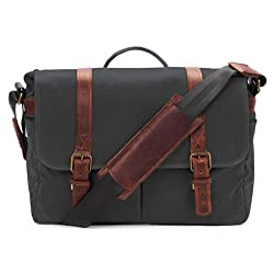 Ona Brixton Messenger Bag - Black
