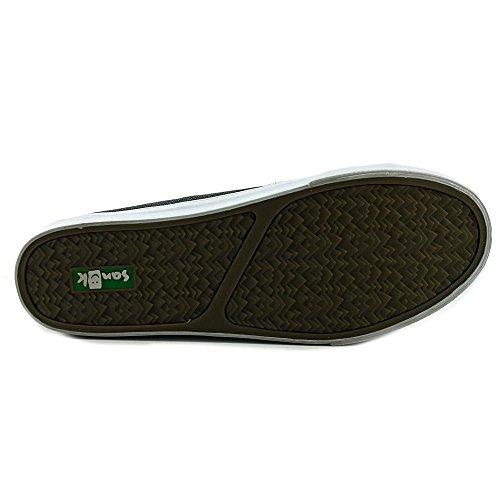 Sanuk Mens Staple Sidewalk Surfers Footwear Anthracite