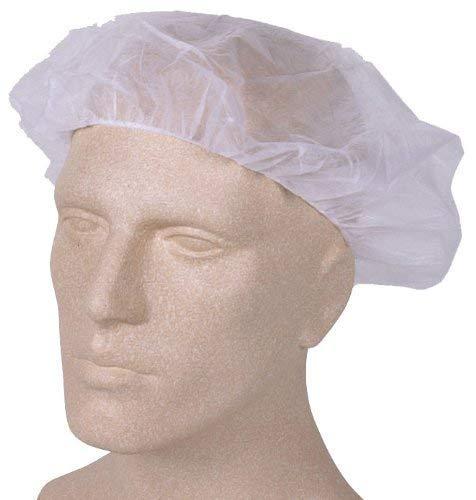Med-Comfort Med-Comfort Baretthaube - Einweg-Kopfschutz - weiß - 100 Stück (Kosmetik Küche)