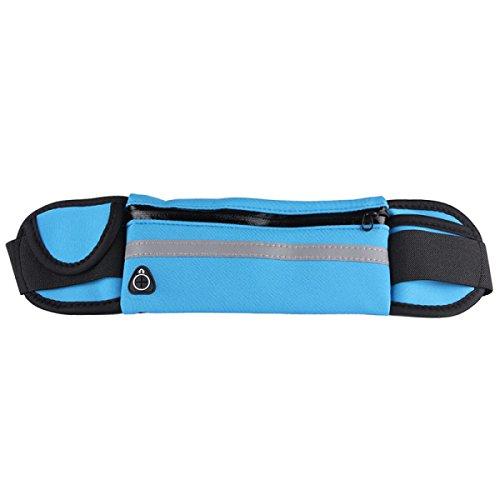 Multi-funzionali Tasche Outdoor Fitness Sport Multi-color,Pink-390*100mm DarkBlue