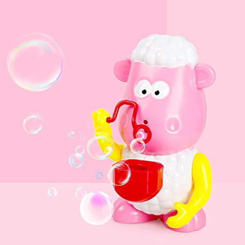 Mitlfuny Auto-Modell Plüsch Bildung Squishy Spielzeug aufblasbares Spielzeug im Freien Spielzeug,Nettes Schaf-automatisches Musik-Blasen-Maschinen-Gebläse-Hersteller-Party-Sommer-Spielzeug im Freien