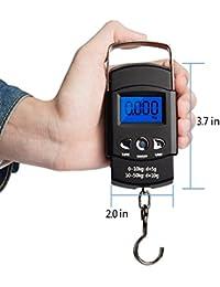 ShoppoStreet WH-A08 Portable Digital Kitchen Scale 50kg/10g