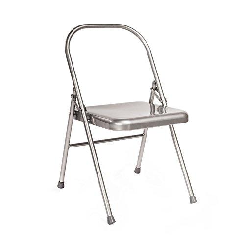 Image of Yoga-Stuhl, verbessertes Modell: ohne vordere Querstrebe / Yoga Chair, klassisches Iyengar Yoga-Zubehör
