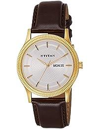 Titan Analog Champagne Dial Men's Watch -NK1650YL01