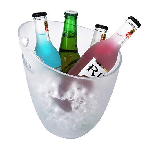 Nilefen - Cubitera de hielo LED que cambia de color