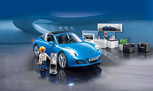 Playmobil Porche-  Porsche Réplica del Porche 911 Targa 4S Playset,  Multicolor,  9, 5 x 24, 8 x 34, 8 cm (Playmobil 5991)