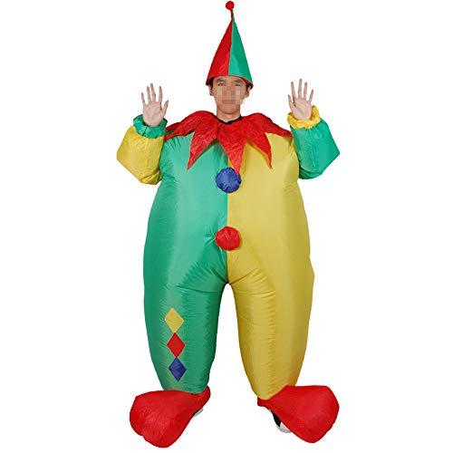 Hehh tuoba fish costume da bambola gonfiabile di sumo pagliaccio, divertenti oggetti di scena, adatto per spettacoli teatrali