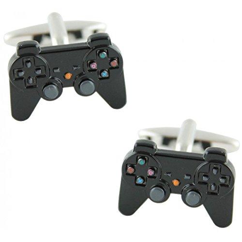 MasGemelos - Gemelos Playstation Negro Cufflinks
