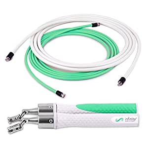 Crossrope Jump Rope Get Lean Set Fitness-Kleingeräte & -Zubehör Speed Rope and Strength Rope