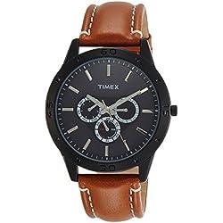 Timex Analog Black Dial Men's Watch-TW000U913