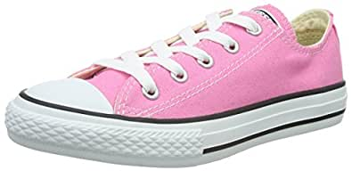 Converse All Star Ox Canvas - C2, Unisex Kids Sneakers, Pink (Rose), Child 10 UK (27 EU)