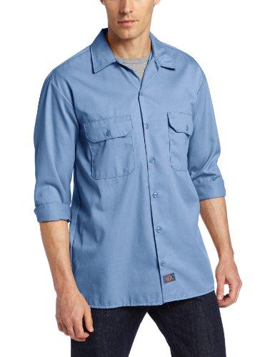 Dickies a maniche lunghe Camicia a maniche lunghe Blu (Gulf Blue) XXL