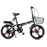 Klappräder Fahrrad Erwachsene Männer Und Frauen 20 Zoll Geschwindigkeit Fahrrad Licht Tragbare Rad