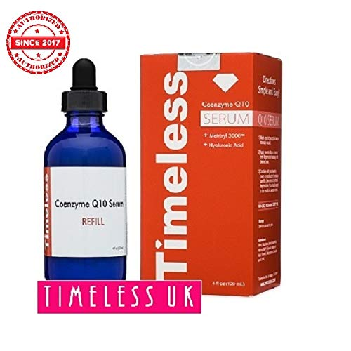 Timeless Skin Care Coenzyme Q10 w/Matrixyl 3000 Serum Refill 4oz/120ml - From Timeless-UK© the...