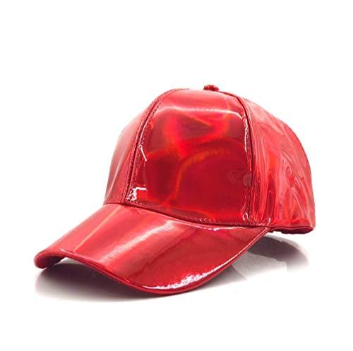 Ydfq Mode Hip-Hop Hut for Regenbogen Farbwechsel Hut Cap Zurück in die Zukunft Prop Bigbang G-Dragon Baseball Cap (Color : 3) (Marty Mcfly Kostüm Kinder)