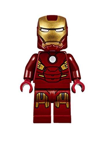 LEGO ® Avengers - Iron Man Mark 7 Minifigur MK7 Super (Anzug Man Super)