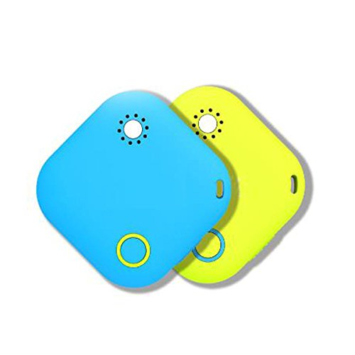 Smart Care - (Turquoise) Bluetooth 4.0 wireless + anti lost + thermometers + wireless key chain object finder& tracking device