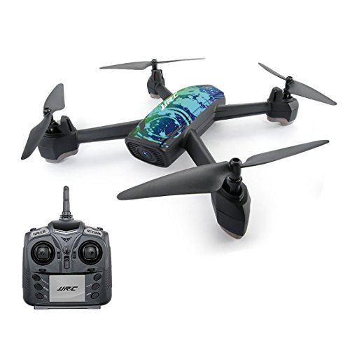 Hobbitos JJRC H55 Tracker RC Drone with WiFi FPV 720P Camera GPS Positioning / Return to Home Quadcopter, Black/Blue