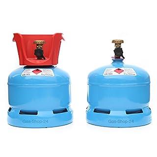 Propangasflasche/Gasflasche 2 kg mit Abnehmbaren Schutzkragen (Propan, Gasflasche Kleiner als 3 kg/5 kg/11 kg)