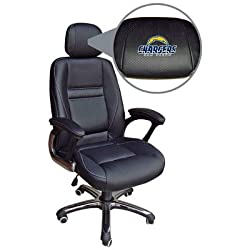 NFL San Diego Chargers Leather Office Chair