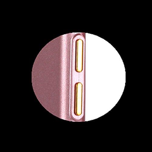 iPhone 6/6S TPU Coque, Étui iPhone 6/6S Housse de Transparent, Etui iPhone 6/6S Silicone Coque de téléphone mobile, ETSUE Créativité Luxe Belle Bling Briller Glitter Couleurs pur (ne pas disparaître)  Rose