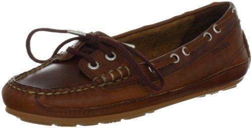 Sebago Bala B61043, Scarpe da barca donna, Brown Oiled Waxy, 40