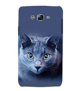 printtech Cat Kitten Eyes Back Case Cover for Samsung Galaxy J7 (2016 ) /Versions: J710F, J710FN (EMEA); J710M (LATAM); J710H (South Africa, Pakistan, Vietnam) Also known as Samsung Galaxy J7 (2016) Duos with dual-SIM card slots Asia/China model with 1080p display and 3 GB RAM