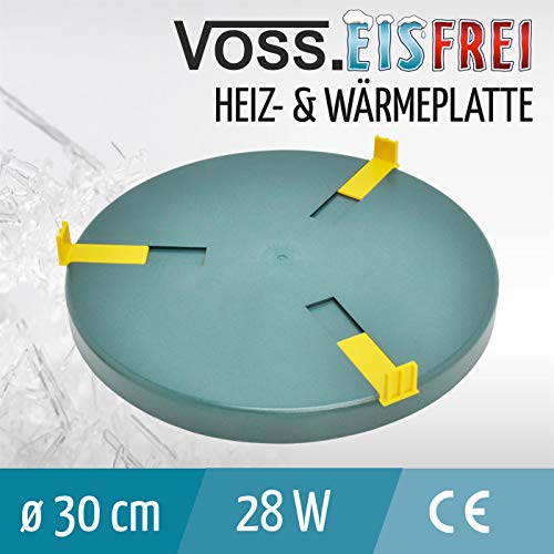 Heizplatte für Tränkenwärmer Tränkenheizung , 30cm, inkl. Netzteil 24V/ 28W - 2