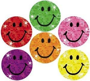 500 Sparkle Smiles Superspots Teacher & Parent Reward Stickers + Free Bookmark - Ideal For Progress Charts