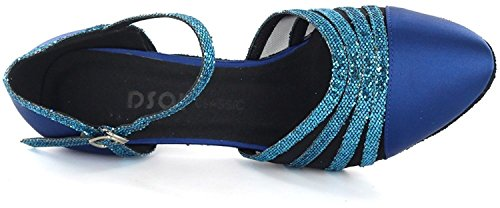 DSOL CLASSIC , Damen Tanzschuhe schwarz schwarz 38, blau - blau - Größe: 41 - 6