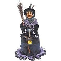 Brujas de Pendle–Hazel Brujas de pie (Morado) 50cm