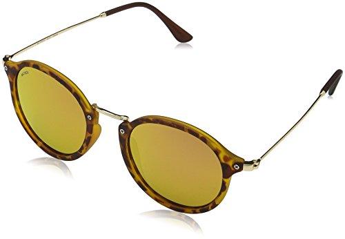 MSTRDS Unisex Spy Sonnenbrille, Mehrfarbig (havanna/rosé 5154), Herstellergröße: one Size