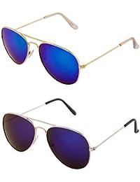 ADDON EYEWEAR Brand UV Protected Unisex Aviator Sunglasses For Men Women Boys And Girls Non Polarized Goggle 2017... - B077DKPM1F