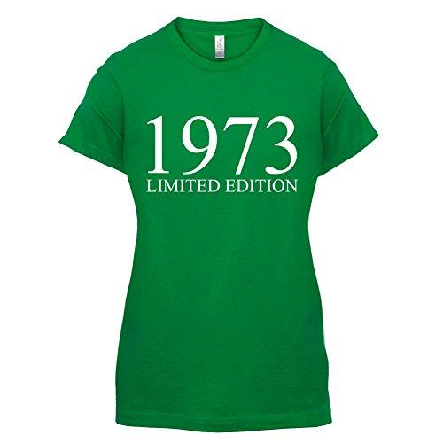 1973 Limierte Auflage / Limited Edition - 44. Geburtstag - Damen T-Shirt - 14 Farben Grün