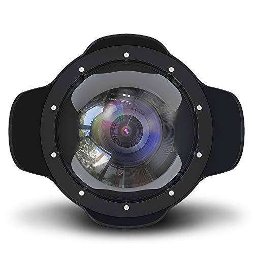 Sea frogs 8'' Dry Dome Port For Nikon D800/D810/D750/D500 (105 mm) Canon 5D III-IV (24-105mm)