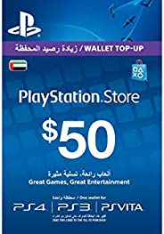 SONY Playstation Live USD 50 PSN Recharge Card For PS4/PS3/PS Vita
