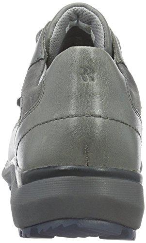 ROMIKA Gabriele 17, Baskets Basses Femme Gris - Grau (Asphalt 740)