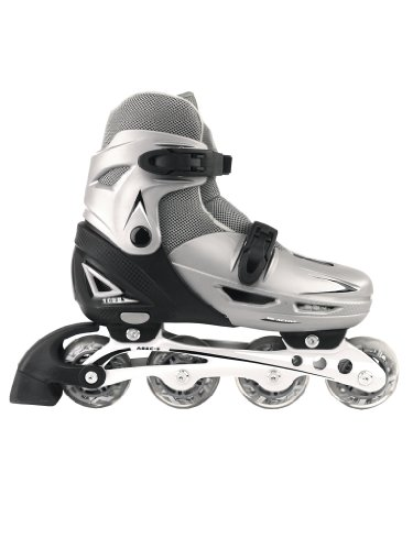 be-active-109b-childrens-youth-inline-skates-size-adjustable-in-line-rollerblades