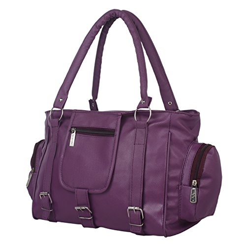 Taps Fashion Women's Handbag Purple (Taps-2)  available at amazon for Rs.279